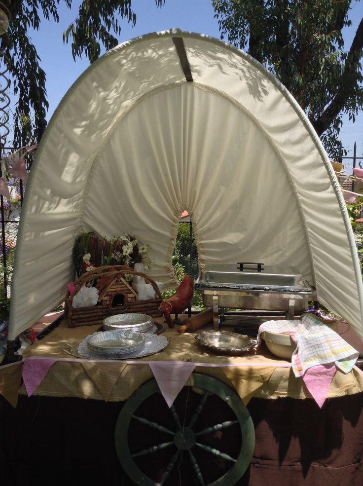 Chuck Wagon Food Table Little House On The Prairie
