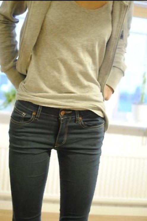 The elusive thigh gap! Unattainable, perhaps. Worth trying ...