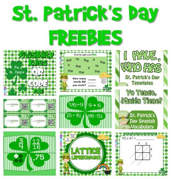 1000+ images about St. Patrick's Day Freebies on Pinterest ...