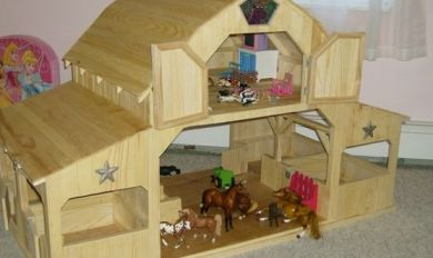 Toy Wood Barn Plans Wooden Thing