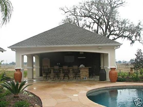 59 Best Images About Pool House-cabanas On Pinterest