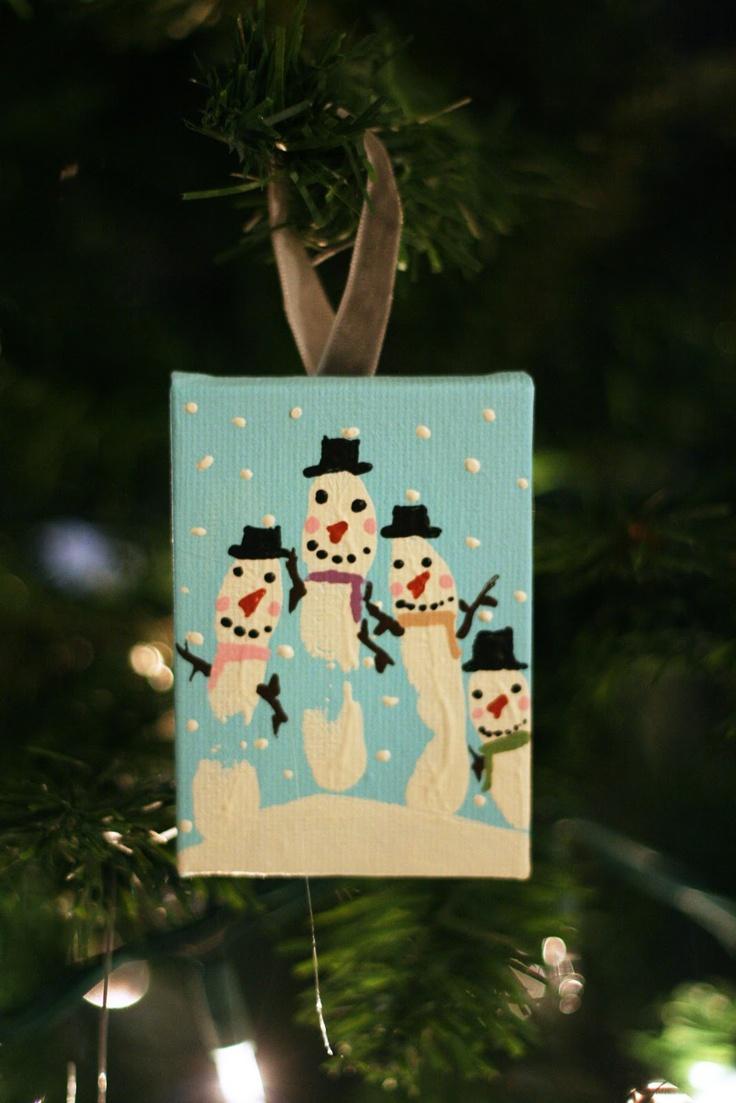 1000 Ideas About Family Fingerprint Ornament On Pinterest