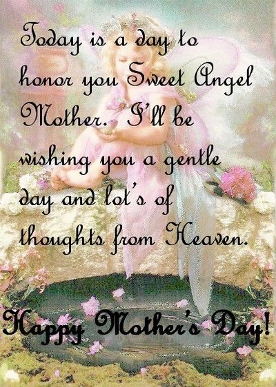 My Mother In Heaven Poem | Sweet Angel Mother! Thoughts ...