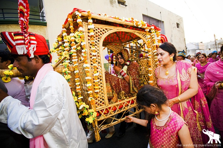 Doli Traditional Way Of Taking The Bride Home Indian Weddings Love Them