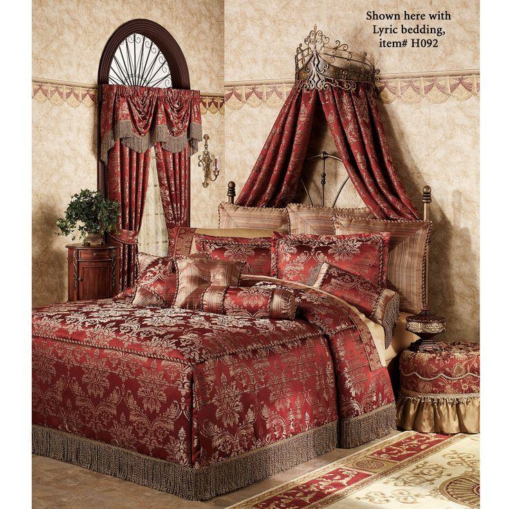 Alexandria Crown Iron Wall Teester Bed Crown | Antique ... on Wall Teester Bed Crown  id=82261