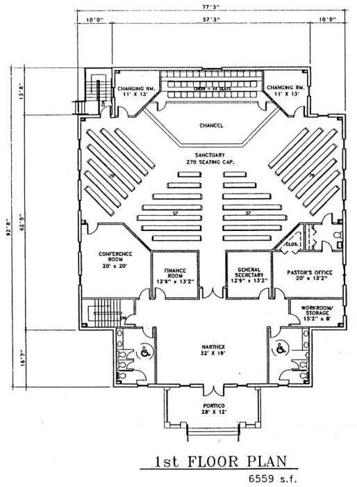 Small Church Building Plans | Joy Studio Design Gallery ...