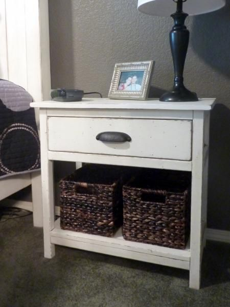 25 Best Ideas About Painted Bedside Tables On Pinterest