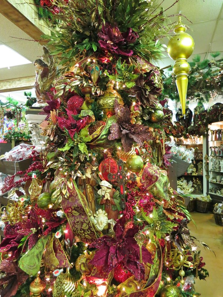 17 Best Images About Christmas Trees TuscanRenaissance