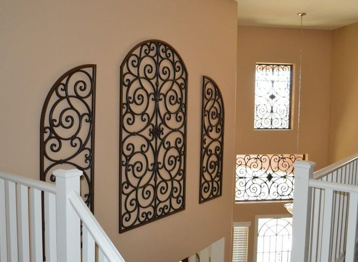 17 Best Ideas About Wrought Iron Wall Decor On Pinterest