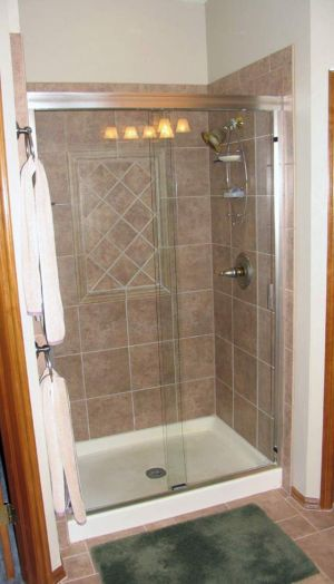 Prefab Shower Stall Lowes | Bathroom ideas | Pinterest