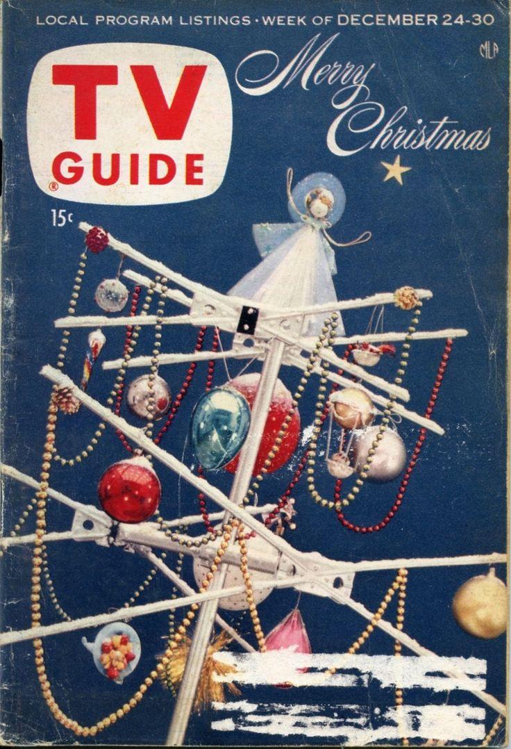 TV Guide December 24 30 1955 Christmas New York Edition