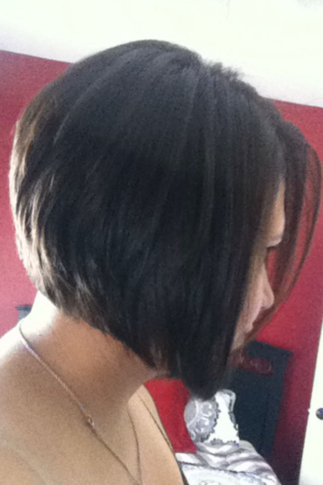 25 Best Ideas About Short Angled Bobs On Pinterest