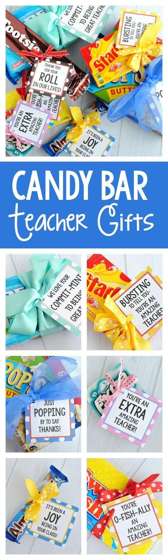 17 Best Ideas About Candy Bar Gifts On Pinterest Teacher