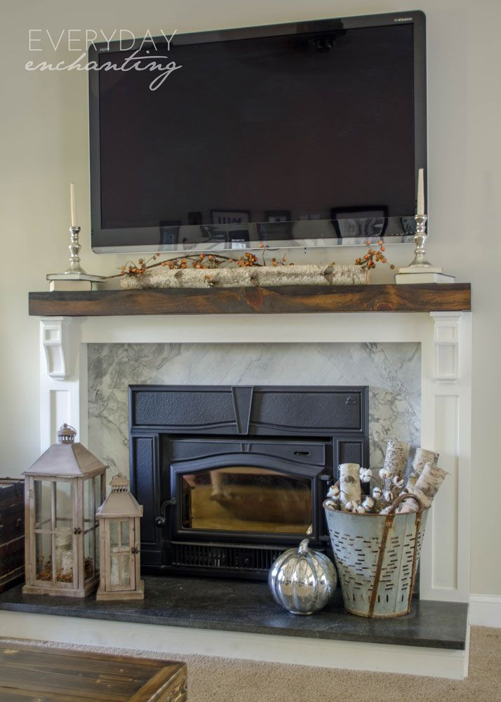 Natural Amp Simple Fall Home Tour With Farmhouse And Rustic