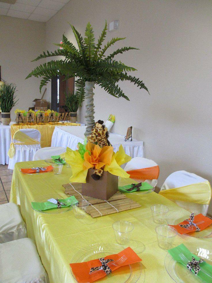 Safari Jungle Baby Shower Decorations