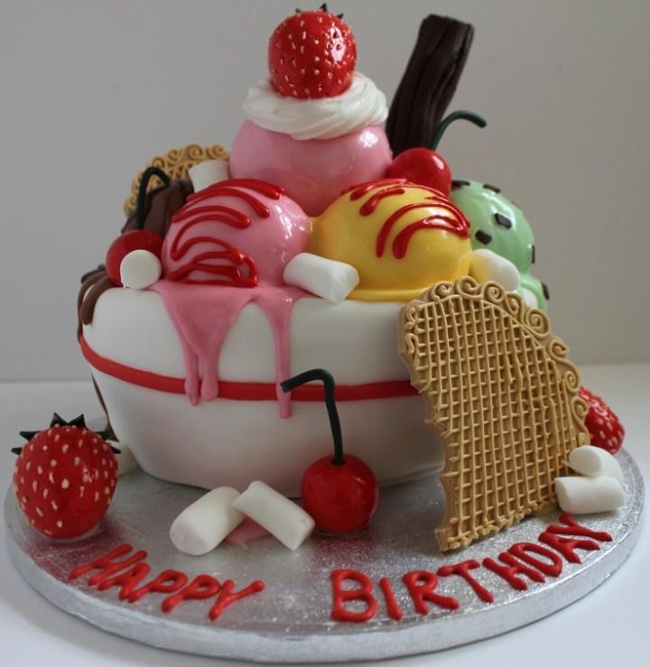 Happy Birthday Ice Cream Cake Photos Joshview