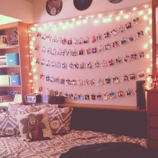 Or You Can Hang Photos On A Clothes Line With The Pins Somewhere In Your