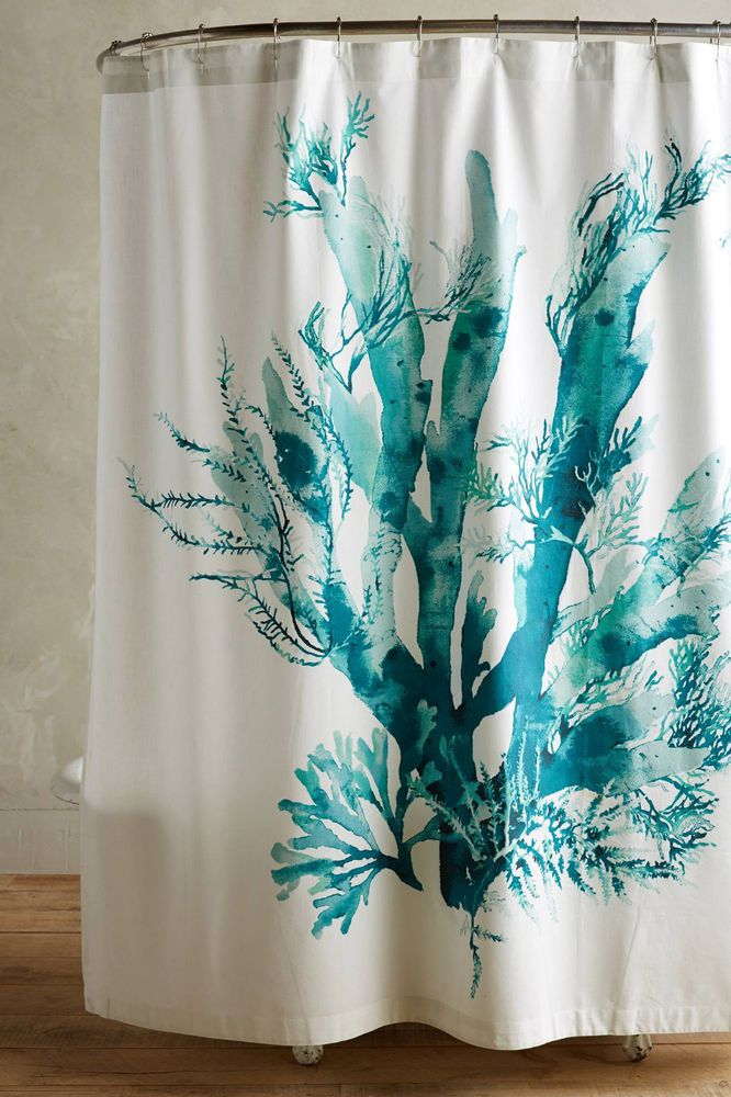 1000 Ideas About Coral Shower Curtains On Pinterest Small Bathroom Colors Guest Bathroom