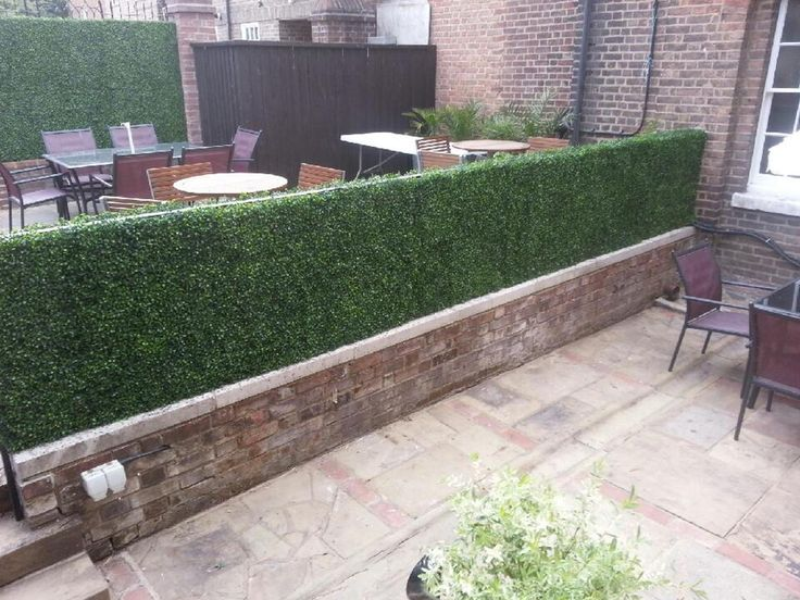 17 best images about artificial hedges on pinterest on interior using artificial boxwood panels with flowers id=93099