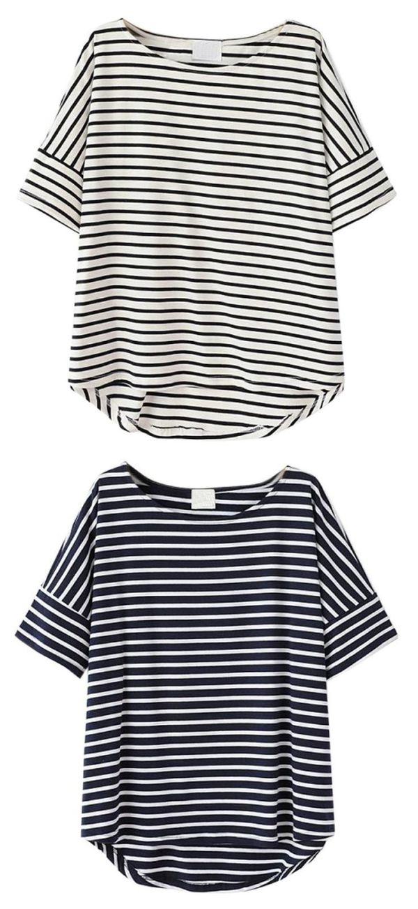 17 Best ideas about Striped Tee on Pinterest | Stripe ...