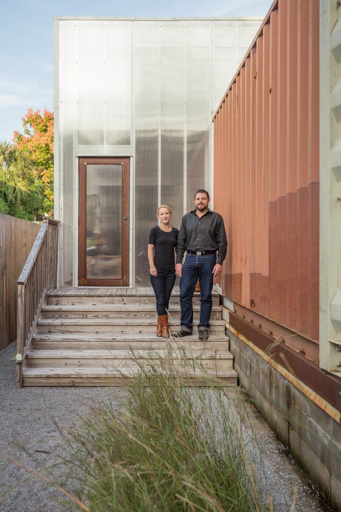 Seth Amp Elisabeths Shipping Container Home In New Orleans