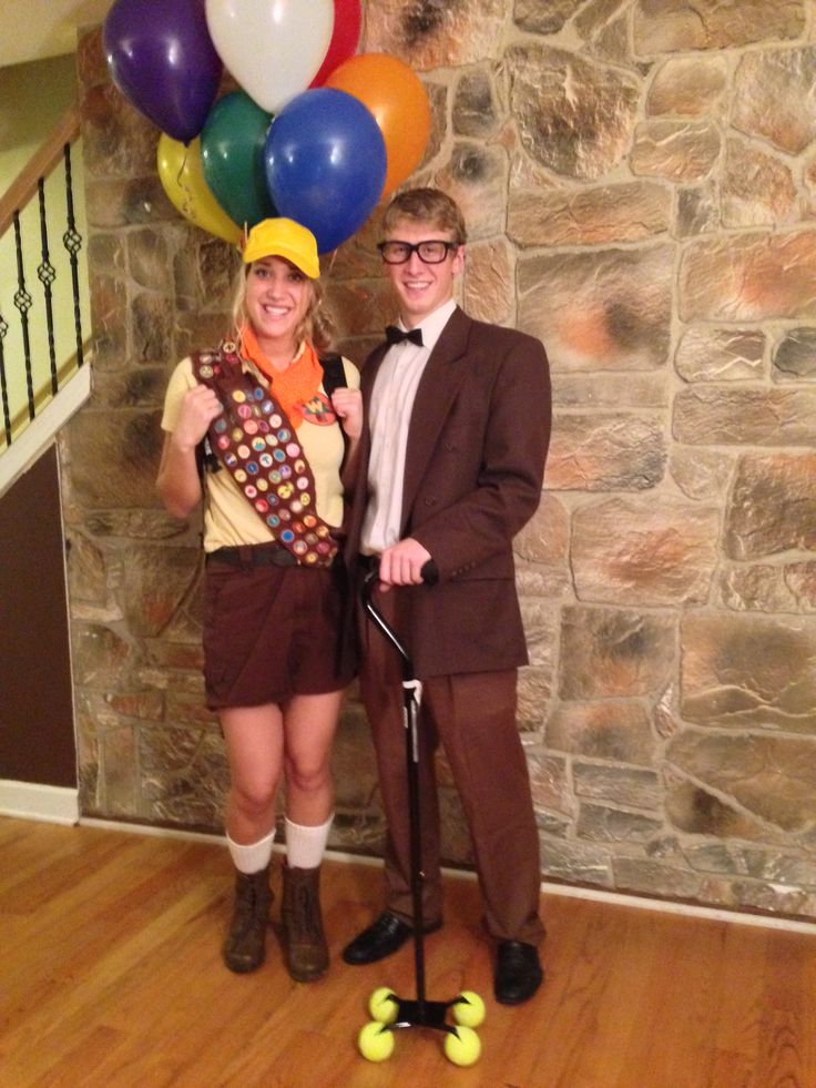 Russel And Mr Fredrickson From UP Halloween Costume