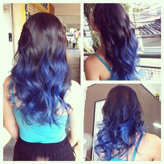 Loving This Cobalt Blue Ombre ColorIntensity Color