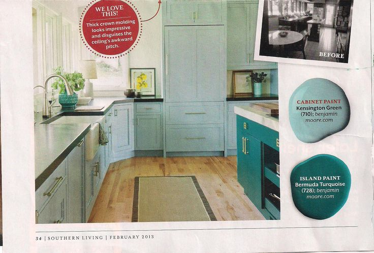 Love These Colors Benjamin Moore 710 Kensington Green And 728 Bermuda Turquoise Spaces And
