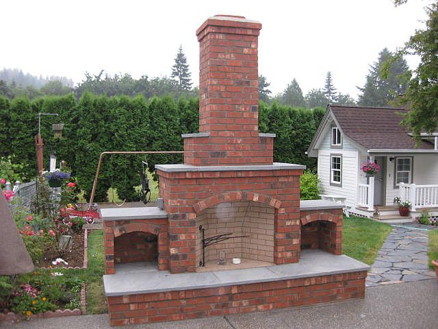 Build Your Own Outdoor Fireplace - WoodWorking Projects ... on Building Your Own Outdoor Fireplace id=82414