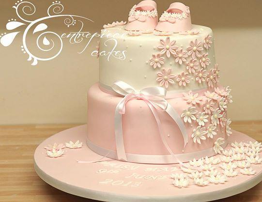 Happy Christening Cake Topper