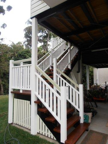 Timber Stairs Amp Balustrade Classic Queenslander Style