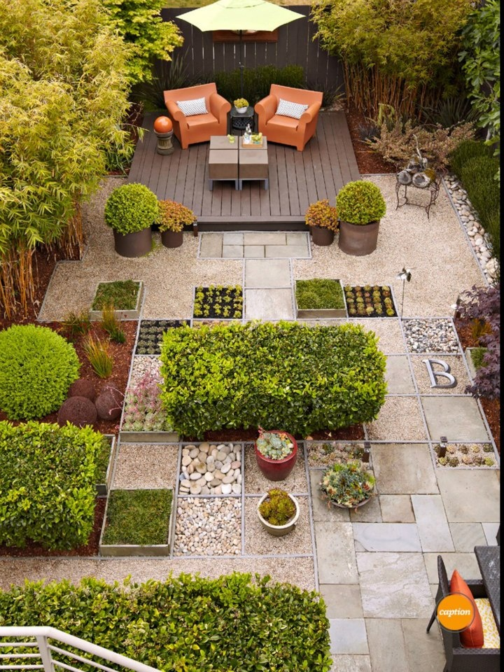 19 best Front yard no grass images on Pinterest on Small Backyard Ideas No Grass  id=28224