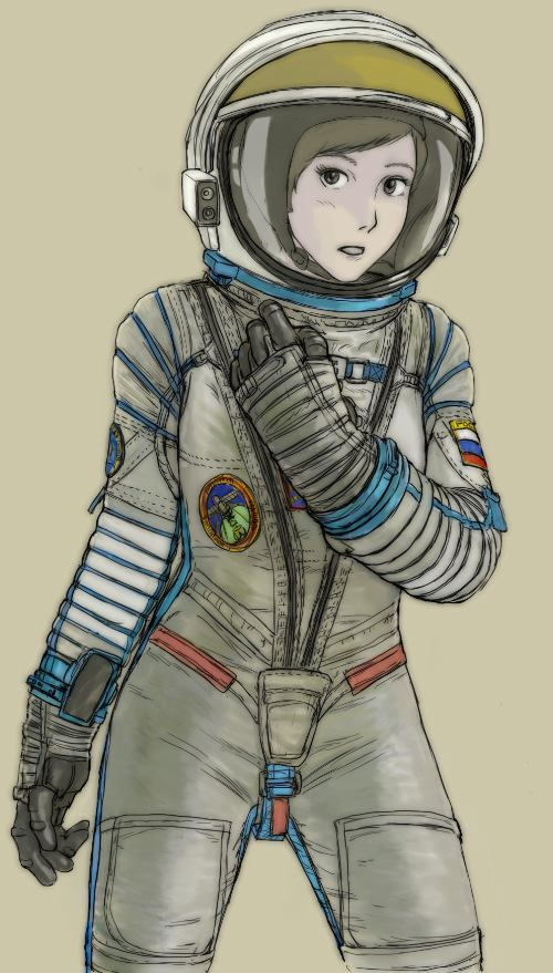 russian pressure suit from the movie quotgravityquot my