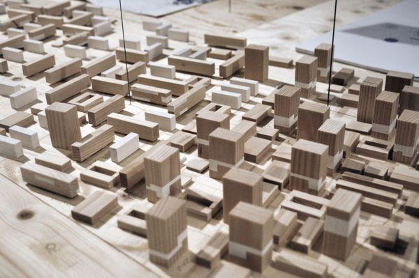 Architectural Model Urban Satellite By Alexander Daxbck