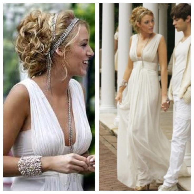 Blake Lively Wedding Dress Wedding Pinterest Her