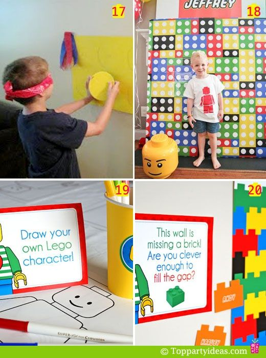 Best 25 Lego Party Games Ideas On Pinterest