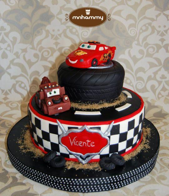 Cars Disney Cake Codys Bday Celebrations Party Ideas