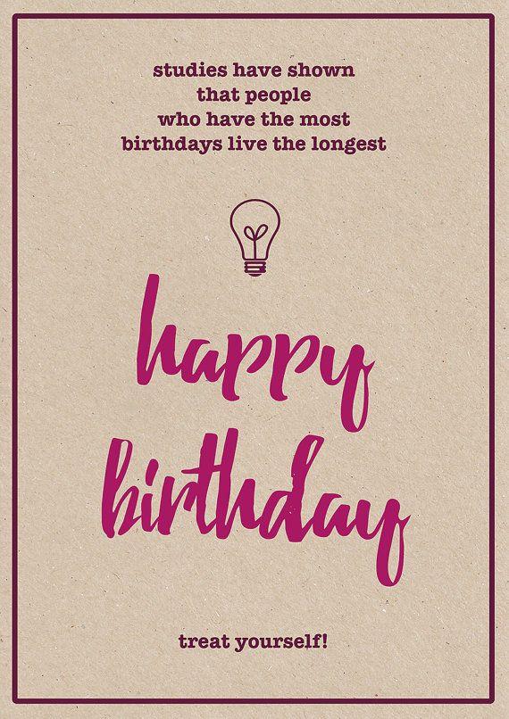 Funny Birthday Card Birthday Card Dad Birthday Card For Him – Funny Quotes Birthday Card