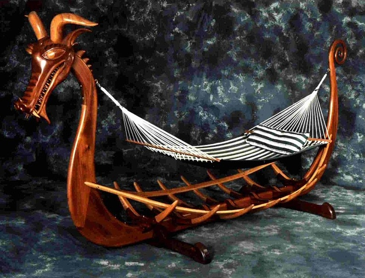 Viking Ship Hammocks And Vikings On Pinterest