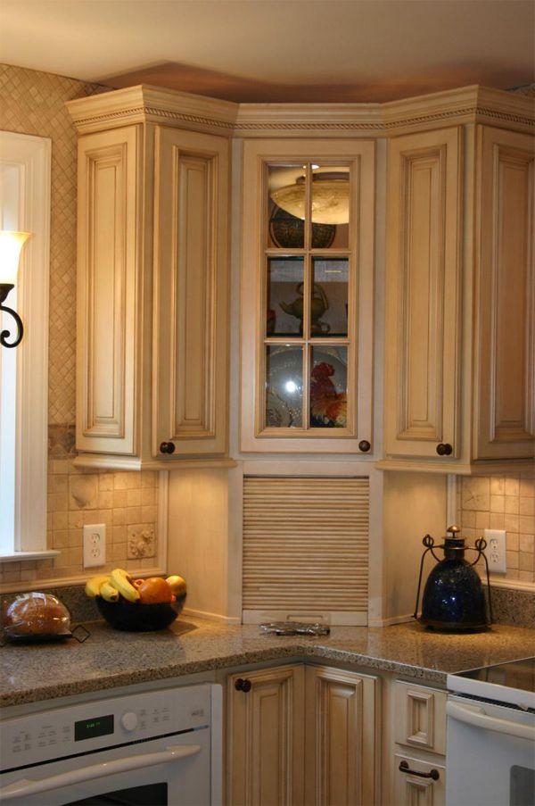 8 best images about corner appliance garage on pinterest on kitchen hutch id=42575