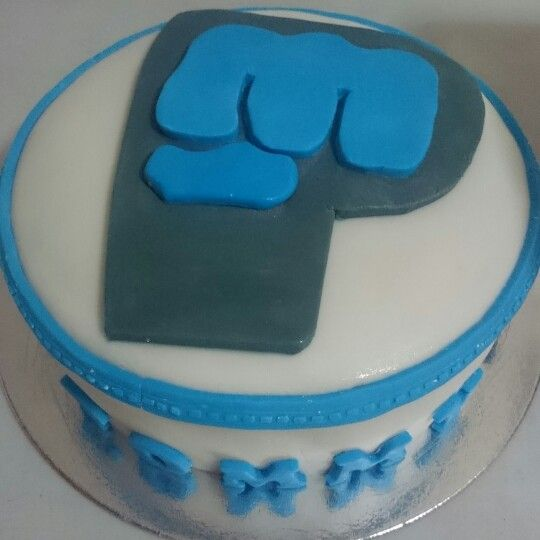 Personalized Cake Pewdiepie Logo Cakes And A Whole Lot