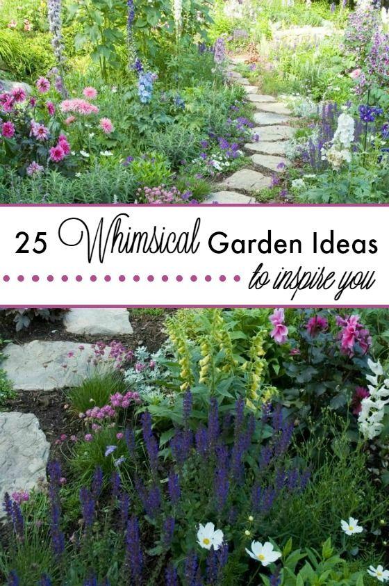 25 Whimsical Garden Ideas To Inspire You | Gardens ... on Whimsical Backyard Ideas id=86246