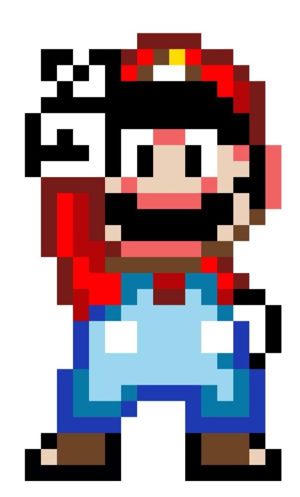 Super Mario 16 bits | pixel art | Pinterest | Mario, 16 ...