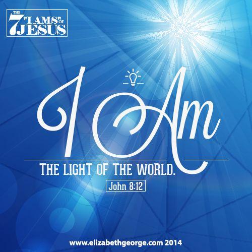 Bible Verse Jesus Light World