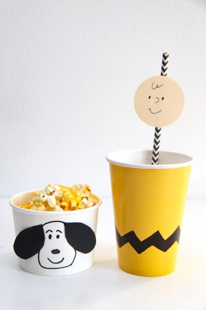 It's the Great Pumpkin, Charlie Brown Viewing Party. This is such an adorable idea to do every year!