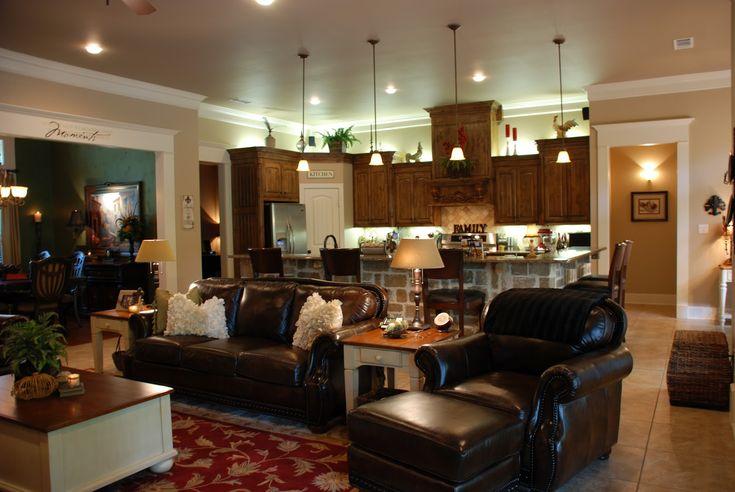 Open Concept Kitchen Living Room Designs