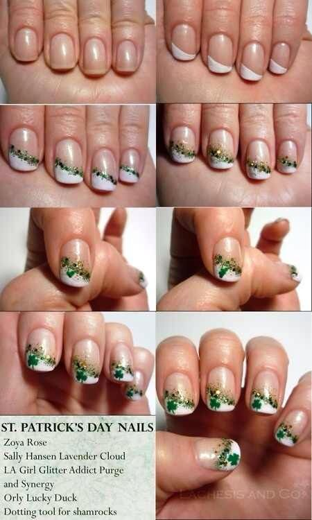 127 best images about Pretty Nails... St. Patrick's Day ...