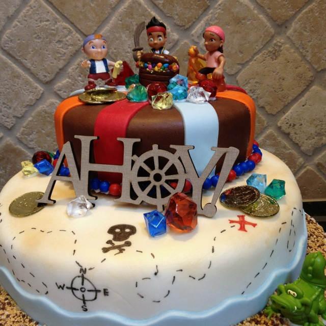Jake And The Neverland Pirates Birthday Cake We Re