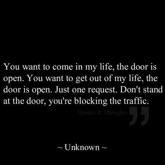 Healthy relationships keep the doors and windows wide open. Plenty of air is flo