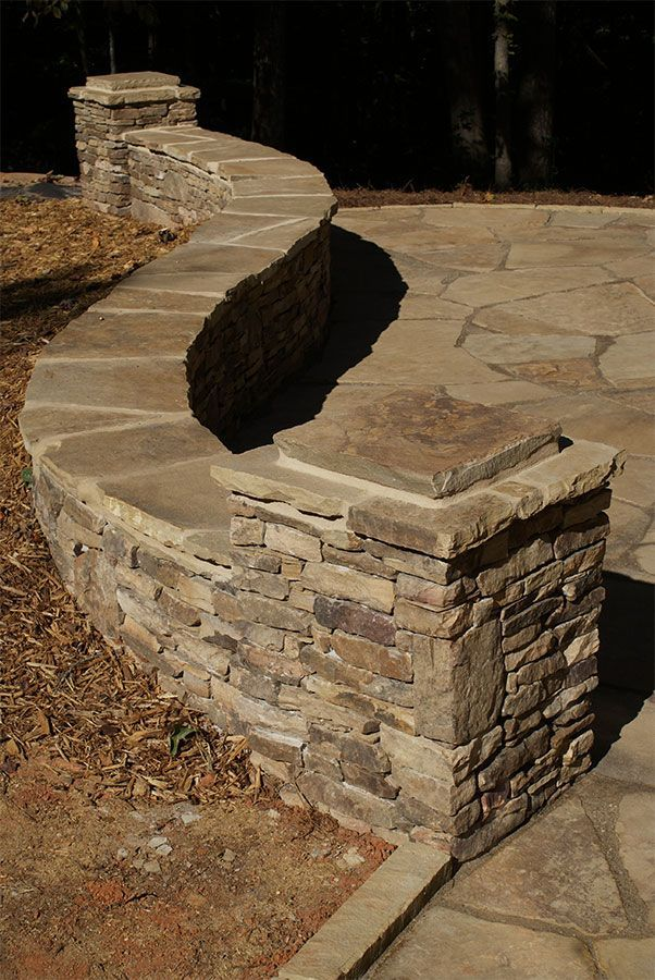 420 best images about landscaping stone wall retaining on stone wall id=57718